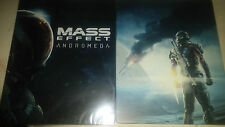 2x Mass Effect Andromeda Steelbook for Xbox One, ps4 or PC NEW! EXTREME RARE!