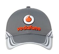CAP Hat Button Formula One 1 Vodafone McLaren Mercedes F1 Team NEW! 2013 Grey