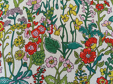 FLOWERS BY LIBERTY 1.00 METRE on TANA LAWN COTTON