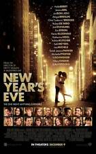 NEW YEAR'S EVE Movie POSTER 27x40 Michelle Pfeiffer Zac Efron Charlotte
