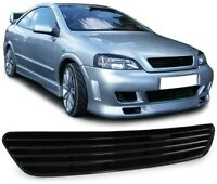 BLACK DEBADGED SPORTS BONNET GRILL FOR VAUXHALL ASTRA G  9/1997-2/2004