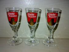 3 Gläser * Schierker Feuerstein Halbbitter * 2cl Schnapsgläser KULT TOP LOOK -