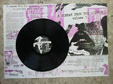 A SCREAM FROM THE SILENCE VOL.1 - LP 1992 ARMED RELAPSE NOCIVO HAYWIRE PUS