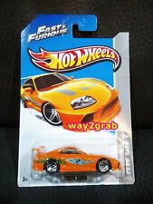 Hot wheels 94 Toyota Supra Fast & Furious JDM Brian Hotwheels
