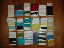 SALE: Huge lot of Vintage sewing notions/craft, lace, binding,trims,rick-rack