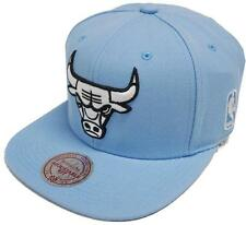 Mitchell & Ness Chicago Bulls Rainbow GAS025 Light Blue Snapback Cap Basecap NBA