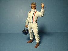 FIGURINE  STEVE  MAC  QUEEN   VROOM   A   PEINDRE  1/18   UNPAINTED  NO SPARK
