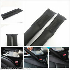 2X Black PU Leather Auto Interior Seat Gap Filler Pad Stop Holster For Infiniti