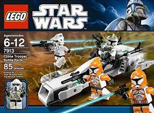 NEW Lego Star Wars CLONE TROOPER BATTLE PACK 7913 ARF KASHYYYK BOMB SEALED RARE