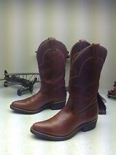 PATHFINDER BROWN MADE IN USA ENGINEER WESTERN COWBOY BOOTS 10D