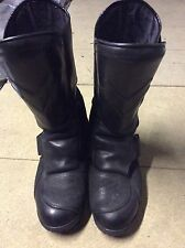 RARE DARTH MAUL FRANK THOMAS TITAN 101 MOTOR CYCLE BOOTS MOVIE PROP STAR WARS