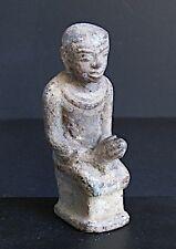 Antique  Orant en Bronze en Prière, BIRMANIE