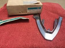 1971 1972 Oldsmobile Toronado NOS Fender Extension Molding RH Upper Bumper Trim