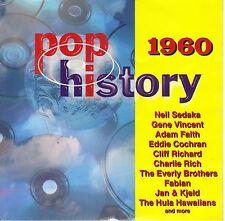 Pop History 1960 by Various Artists (CD, Jun-1996, ZYX Music)