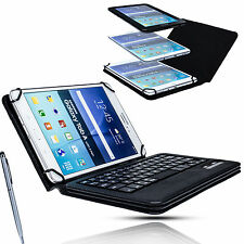 Clavier Clavier Bluetooth Etui Coque pour Samsung Galaxy Tab S/A/4/7.0/8.4