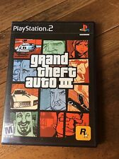 Grand Theft Auto III Three For Sony PlayStation 2 - Video Games, Rockstar Games
