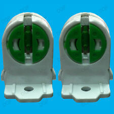 2x T5 G5 Base Fluorescent & LED Tube Lamp Holder Socket Snap-In Or Slide-On Pack