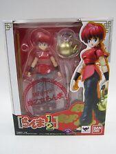 Anime Ranma 1/2 Ranma Saotome Girl Ver. SHF S.H. Figuarts Figure Bandai Japan