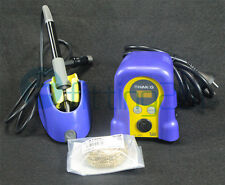 FX-888D Hot Gun 70W 220V Pro HAKKO Digital Soldering Station Welder Iron Repair