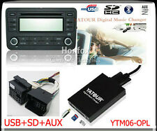 Yatour Digital CD Changer for Opel Vauxhall Holden 2006-2010 USB SD Aux Adapter