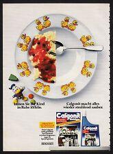3w965/ Alte Reklame - von 1984 - CALGONIT macht alles wieder strahlend sauber