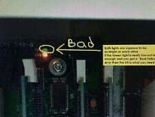 """HP DesignJet 5100 5500 5500PS 5500UV Power supply FIX """"Boot Failed"""" error FIX"""