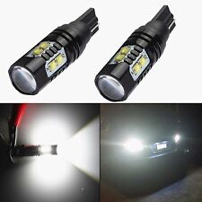 NEW 2x 50W CREE 921 912 T10 T15 LED 6000K HID White Backup Reverse Lights Bulb