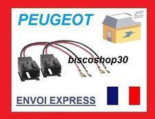 2 Cables adaptateurs enceintes pour Citroen Berlingo C1 C2 C3 et Peugeot