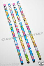 SHOPKINS PENCILS EASTER GIFT GIRLS STATIONARY PARTY FAVORS 4 PENCILS F CANDY BAG
