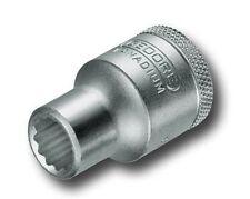 """Gedore 6137110 Socket A/f 1/2 """"bi-hexagon Ud perfil Tamaño 3/4"""
