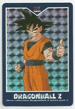 Carte Dragon ball Z GT Hero collection Card Part 4 dbz prism N 397