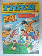 Comic- Tiger , 3rd Dec 1983- BILLY'S BOOTS
