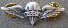 WWII US ARMY 82ND 101ST 11TH 17TH AIRBORNE PARATROOPER RIGGER JUMP WINGS