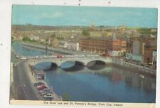 The River Lee & St Patricks Bridge Cork City Ireland 1975 Postcard 876a