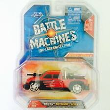 "Hotwheels  / JADA BATTLE MACHINE '99 Chevy Silverado "" DOOLEY "" Red - Hot Pick"