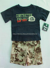 45% OFF! AUTH FADED GLORY 2-PC CAMO SHORTS SET 3T / 2-3 YEARS BNWT US$ 14.99