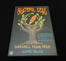 Grateful Dead Downhill From Here Alpine Valley DVD 1989 Summer Tour WI 1999 1st