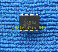 10PCS CA3080AE CA3080 OP Transconductance AMP IC INTERSIL/HARRIS/RCA DIP-8