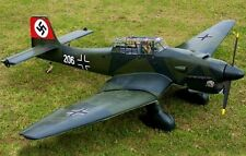"Scale  STUKA -JU 87D-5     71""    Giant   RC Model AIrplane Printed Plans"