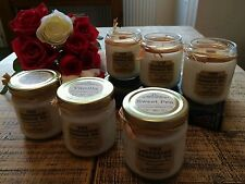 Hand poured finest Soy Wax candle, The Victorian Candle Co. 3 beautiful scents!