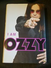 RARE! I am Ozzy AUTOGRAPHED by OZZY Hardback 1st Edition Print Book