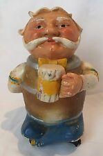Vintage BLATZ BEER Old Man Figurine Statue BREWERIANA