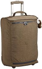 Kipling Teagan Cabin Sized 2 Wheeled Trolley Suitcase, 50 cm, Soft Khaki C