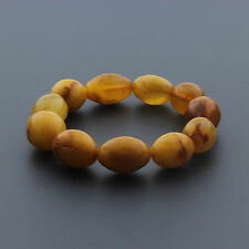 Natural Baltic Amber Bracelet for Adult 24.87gr. CB196