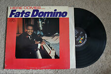 FATS DOMINO Here Comes… Rock R&B RECORD LP VG VG+
