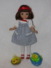 "Robert Tonner 8"" Tiny Betsy McCall Doll Dressed In Blue W/Extras"