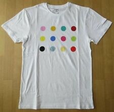 DAMIEN HIRST '12 Spots', 2012 Artist T-Shirt LARGE (Adult / Unisex) White *NEW*
