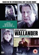 Wallander : Original Films 1-6 - Rolf Lassgård - New DVD