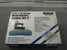 Brad Nailer & Stapler 18 Gage Central Pneumatic #40116