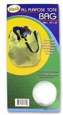 Mesh All-Purpose Tote Nylon Sports Beach Bag Hamper College Laundry Wash